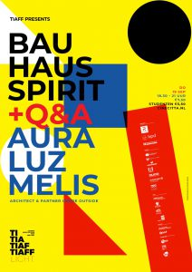 De film Bauhaus Spirit te zien op TIAFF Light - poster TIAFF Light