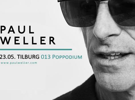 Legendarische Paul Weller naar 013 - affiche met portret