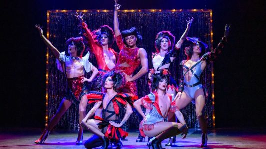 Broadwaymusical Kinky Boots in Theaters Tilburg - scènefoto